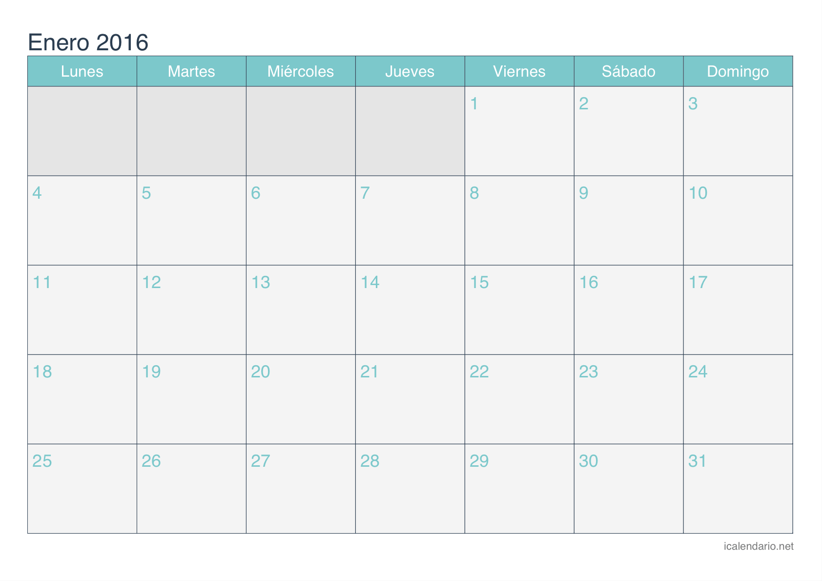 Calendario 2016 Editable | Free Pictures Finder